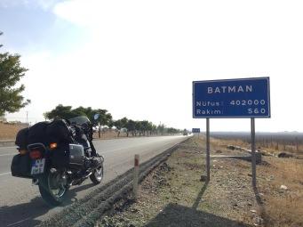 Eine Stadt im Südosten trägt den großartigen Namen Batman