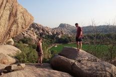 Wandern in Hampis Felslandschaften