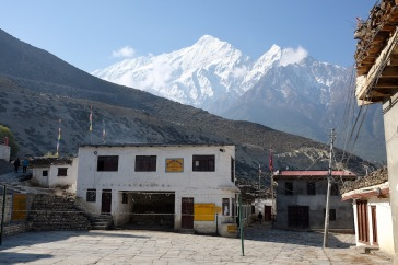 Volleyballplatz in Jomsom