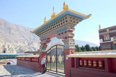 Tempel in Jomsom